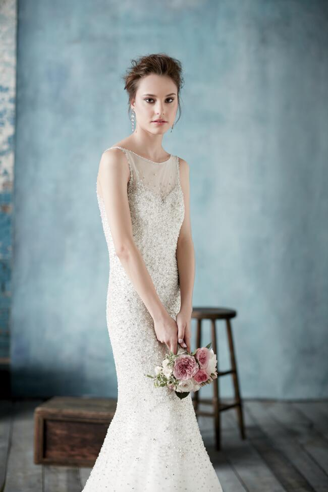 Dress: Allure Bridals // Featured: The Knot Blog