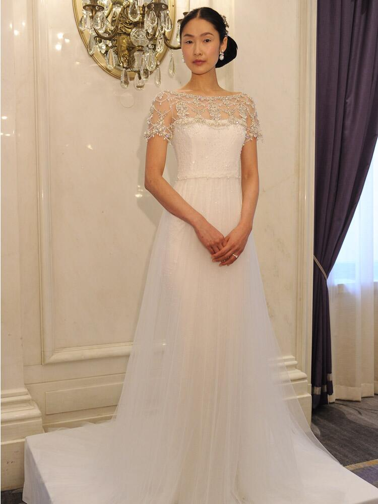 Marchesa Spring Wedding Dresses Are All About Romance for 2016
