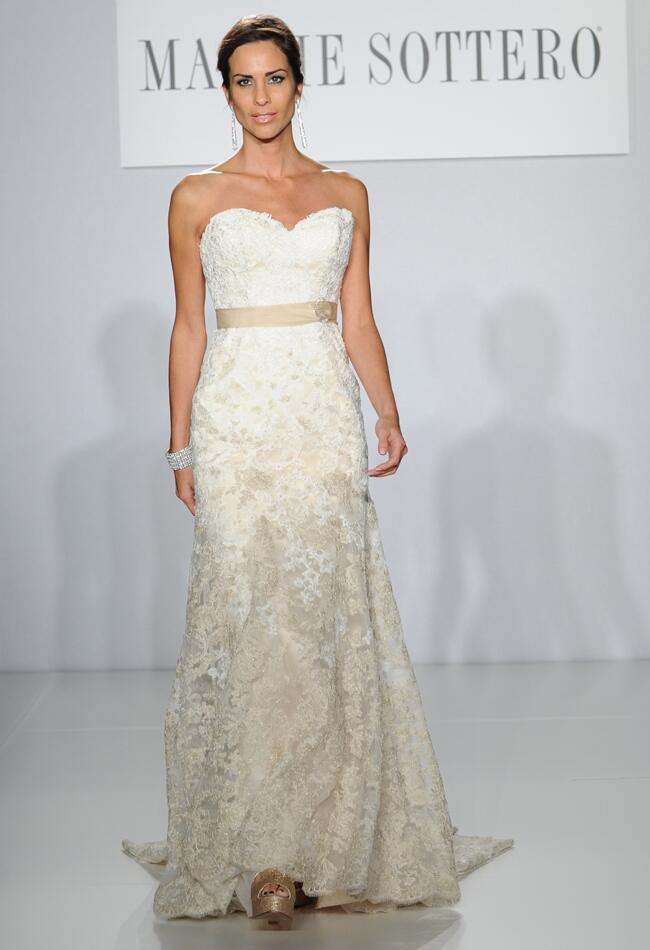 Maggie Sottero Spring 2014 Runway Wedding Dresses from The Knot