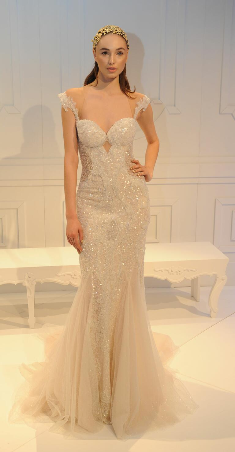 Gail lahav spring 2017 collection bridal fashion week photos for Summer style wedding dresses