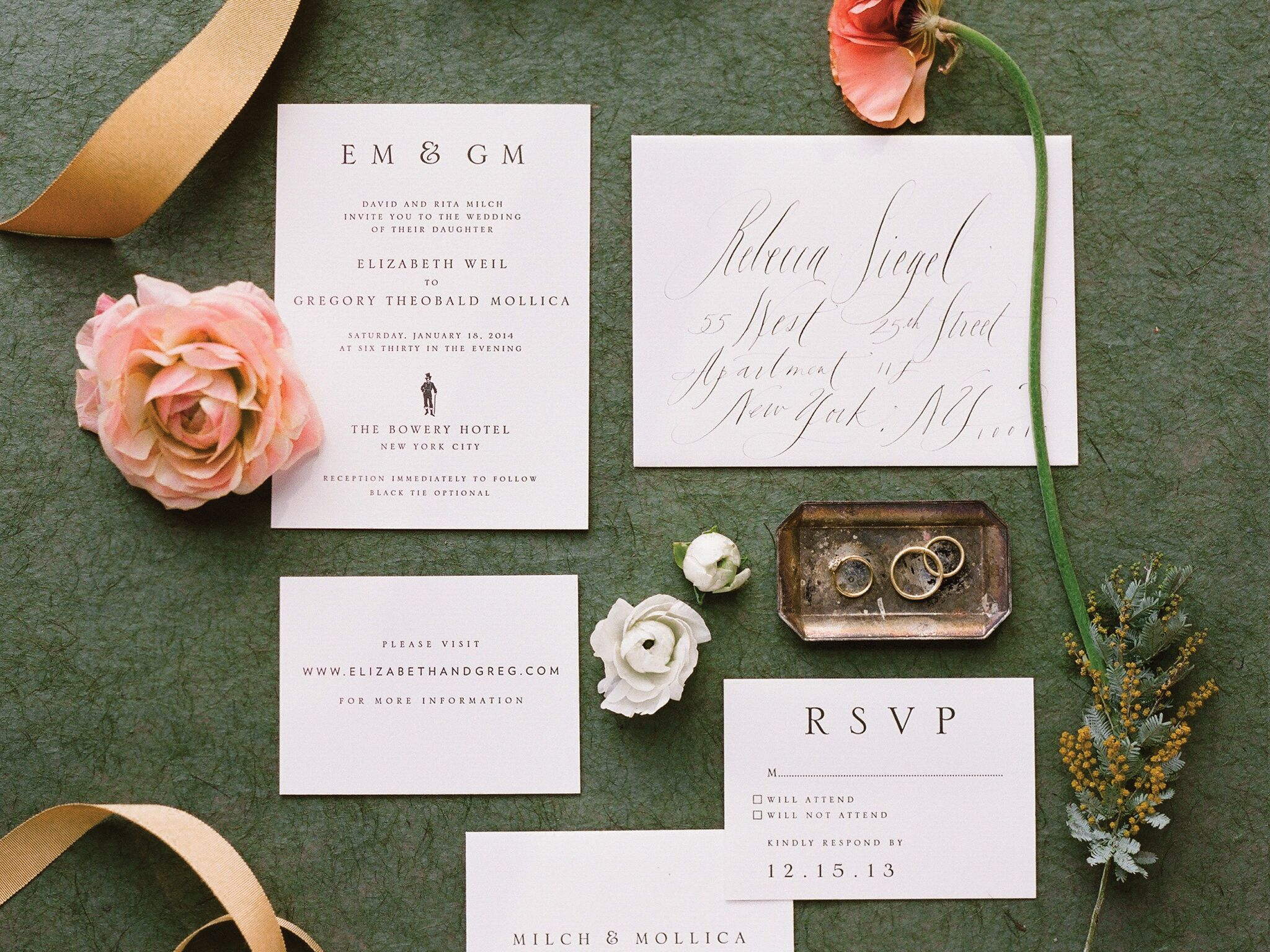 top 10 wedding invitation etiquette qas - When To Mail Wedding Invitations