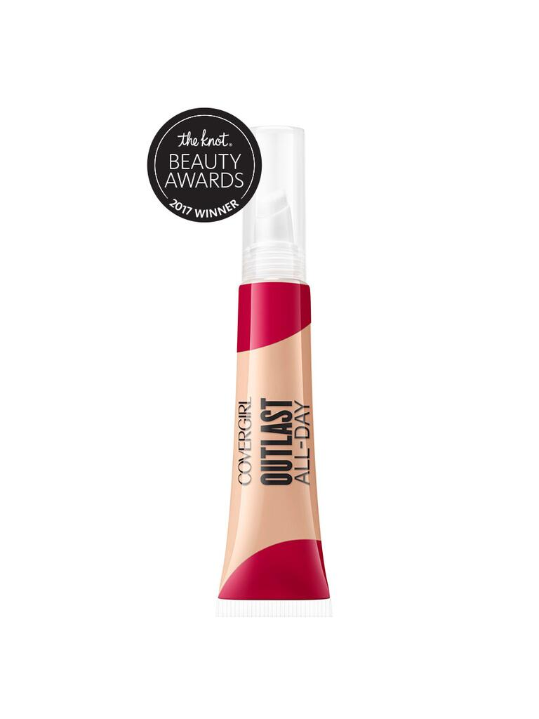 The Knot pick for best budget concealer is the CoverGirl Outlast All-Day Soft Touch concealer