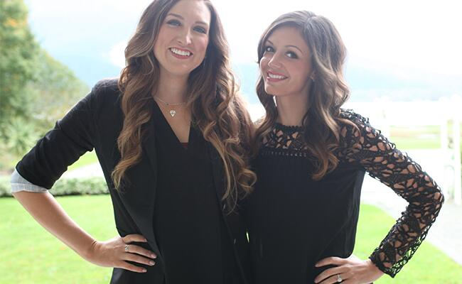 Kelsey Vanderhorst and Desiree Hartsock pose together