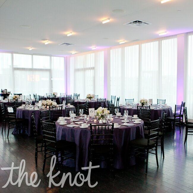 Purple Wedding Reception Le Meridien Minneapolis