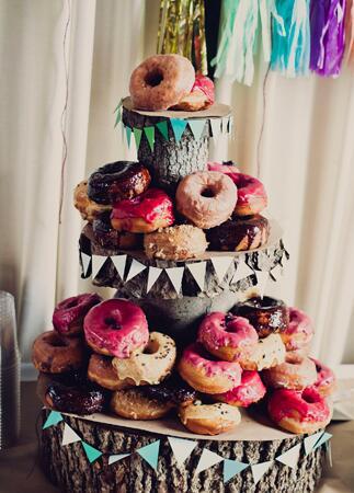 DIY tassel wedding ideas   Khaki Bedford Weddings   blog.theknot.com