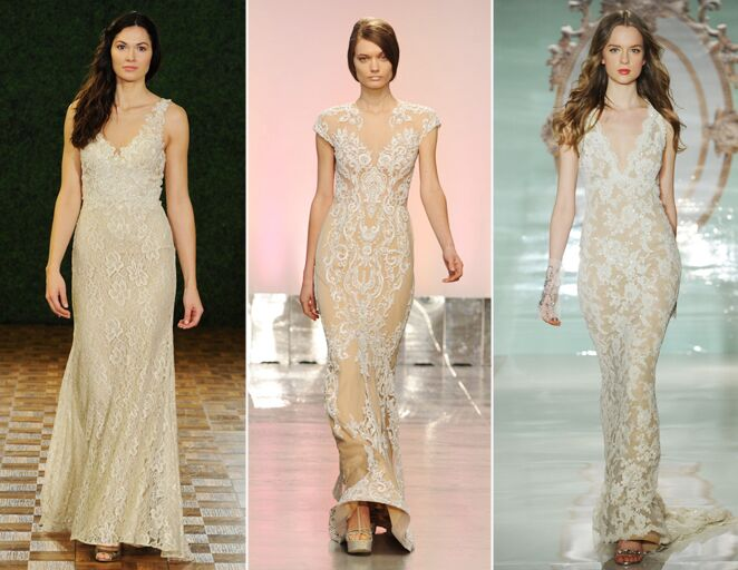 Trend Report! Hot New Wedding Dress Trends For Fall 2014 and Spring 2015