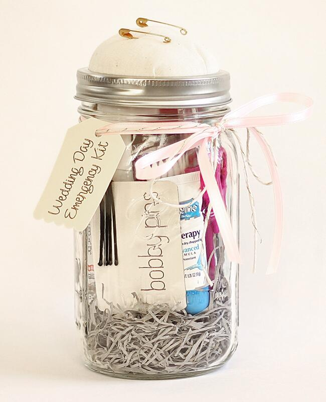 DIY wedding day emergency kit: 'A Casarella / TheKnot.com