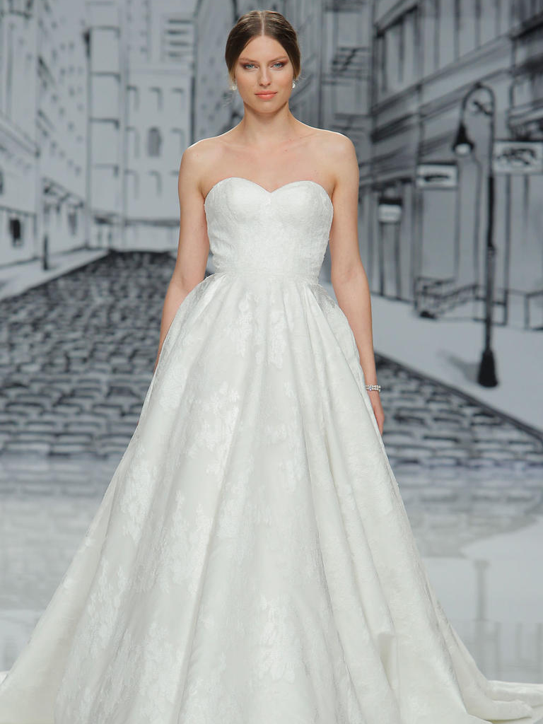723fd18fb95 Float Down the Aisle in These Justin Alexander Spring 2017 Wedding Dresses
