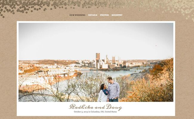 Read The How We Met Stories Couples Shared On Their Wedding Website