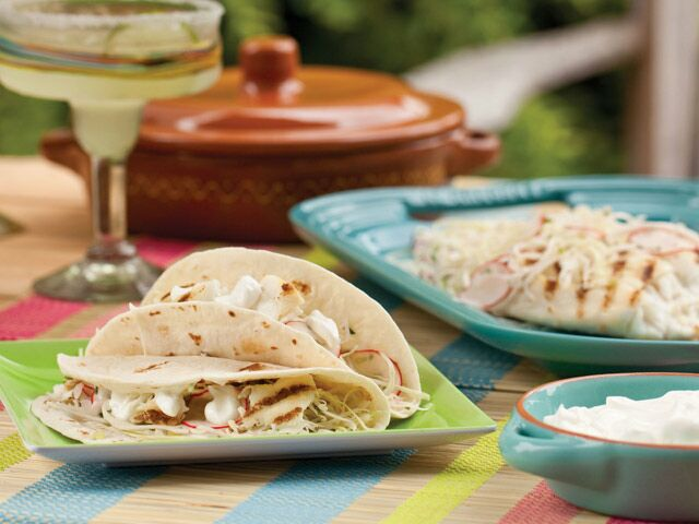 Grilled Baja Fish Tacos