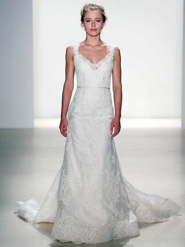 Kelly Faetanini Spring 2018 silk organza A-line wedding dress
