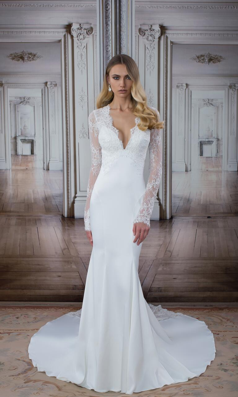 See every new pnina tornai wedding dress from the love for Wedding dress boutiques in nyc