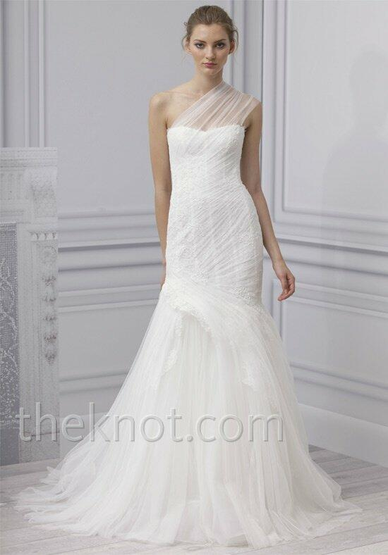 Monique lhuillier reese wedding dress the knot for Price of monique lhuillier wedding dresses
