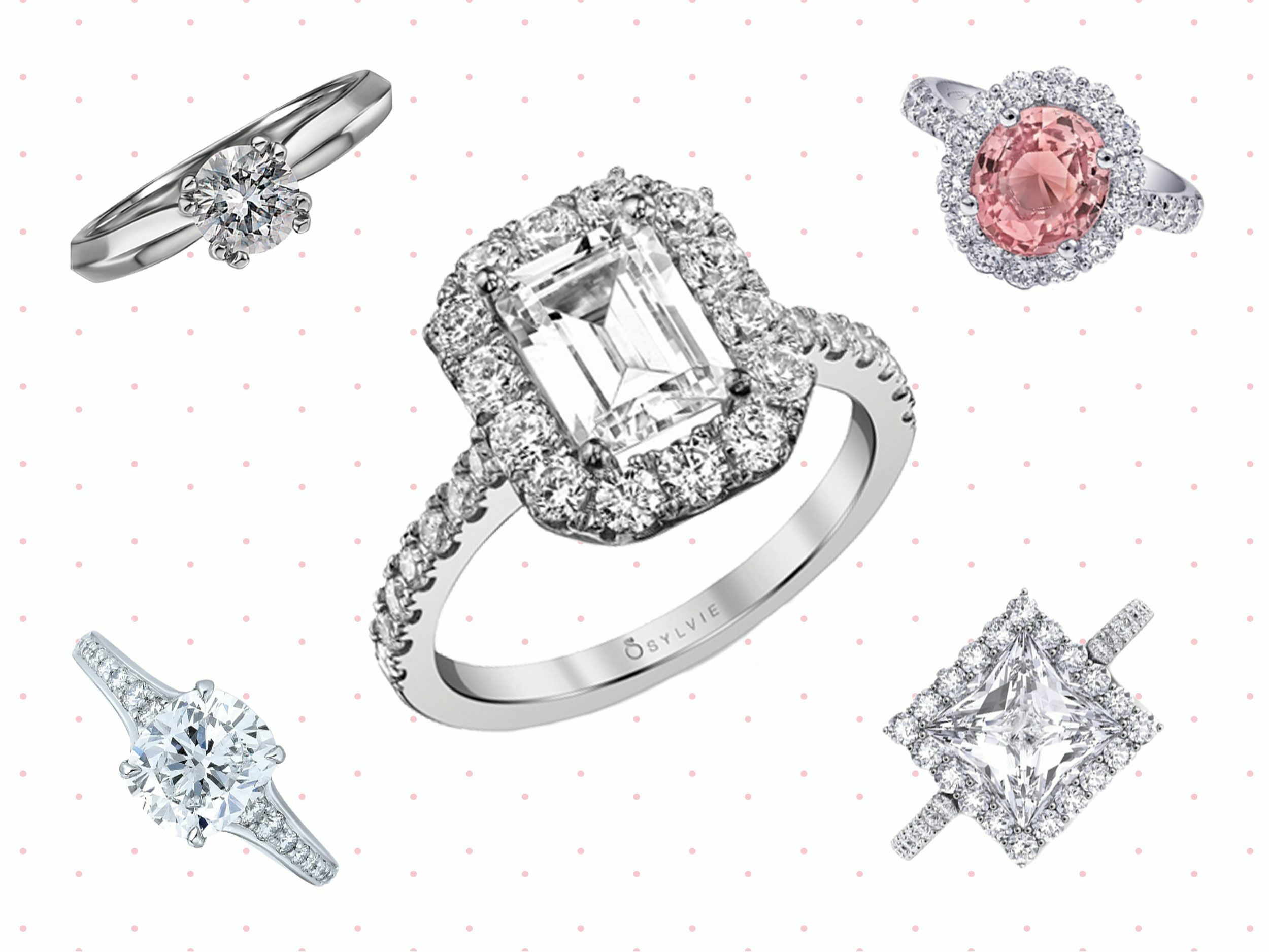 our scott bolenz kay dr collection engagement rings