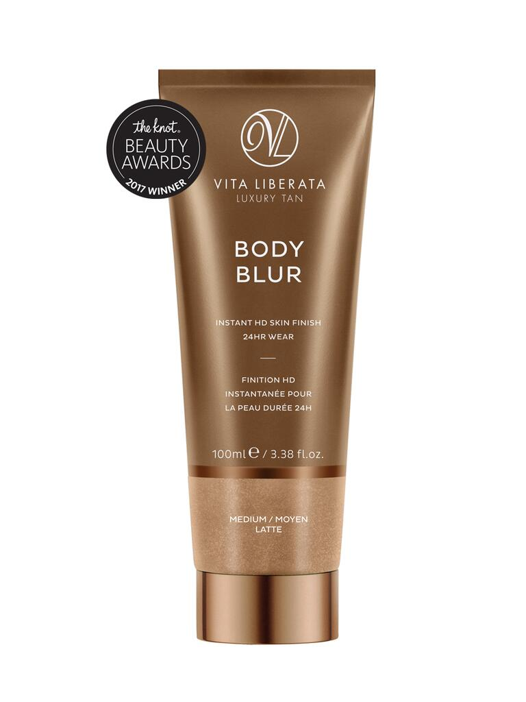The Knot pick for best bronzer is the Vita Liberata Body Blur Instant HD Finish
