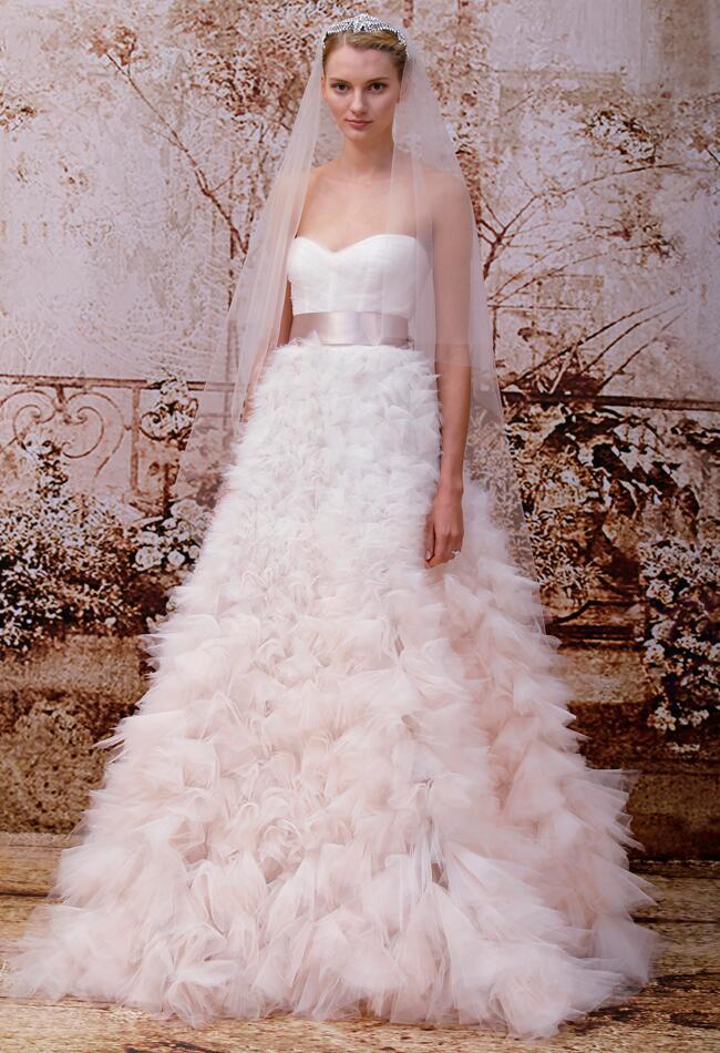 Monique lhuillier fall 2014 wedding dresses for Buy monique lhuillier wedding dress