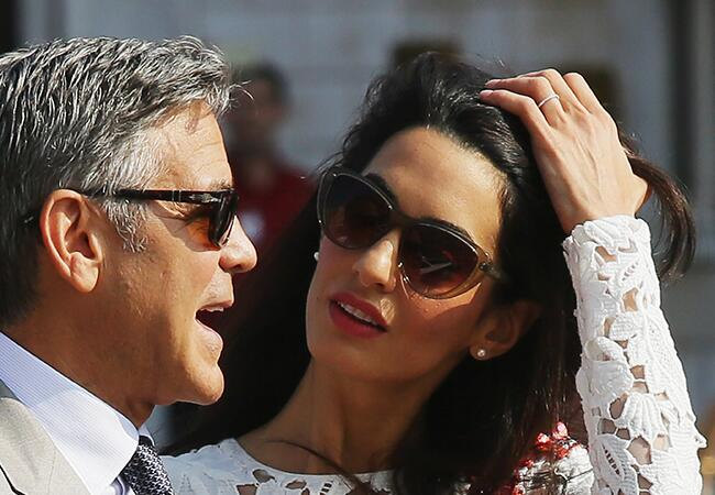 George Clooney, Amal Alamuddin Married In A Civil Ceremony