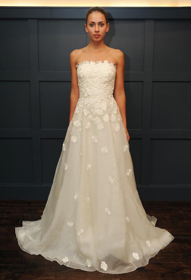 Winter Wedding Dress Simple : Temperley bridal winter wedding dresses are full of simple sweet