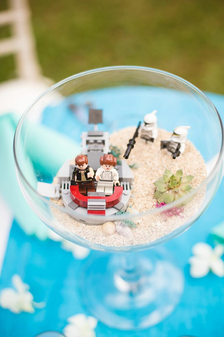39 star wars 39 wedding ideas perfect for may the fourth for Star wars decorations