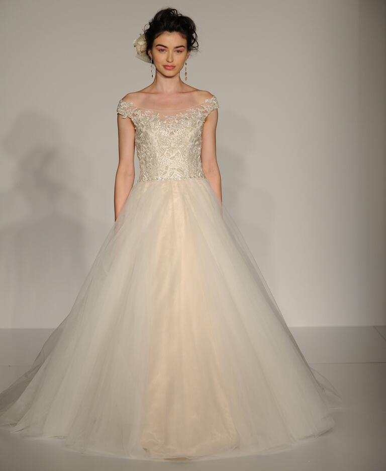 Latest Off The Shoulder Wedding Dresses 2016 What Woman