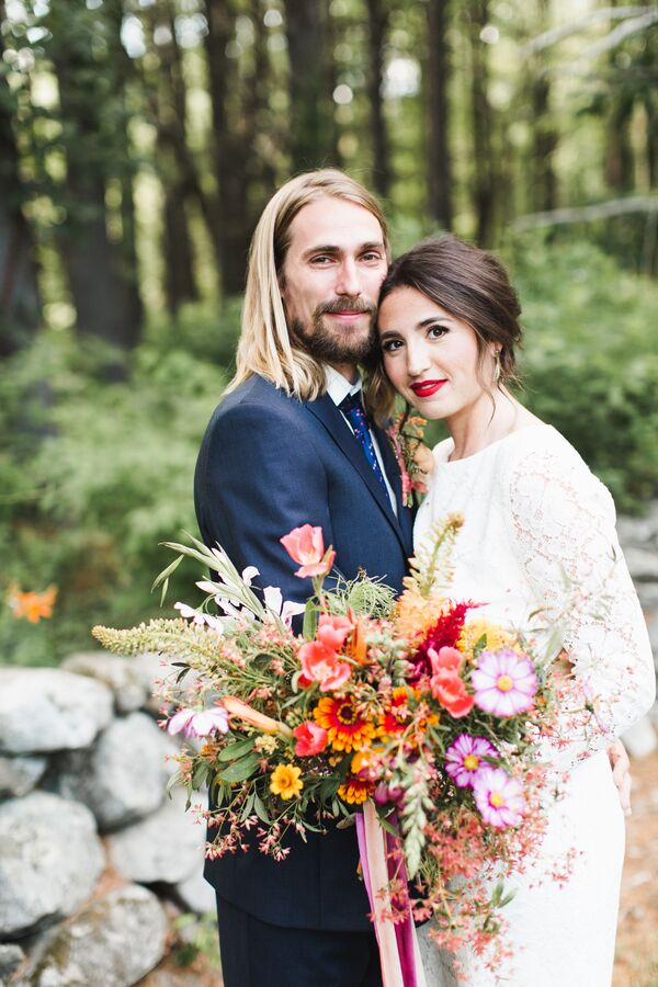 Bohemian Backyard Wedding Inspiration