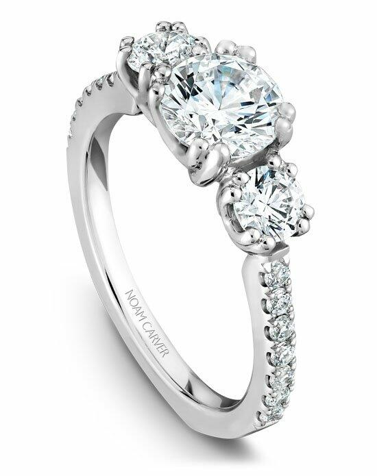 Noam Carver B001-05WS-100A Engagement Ring photo