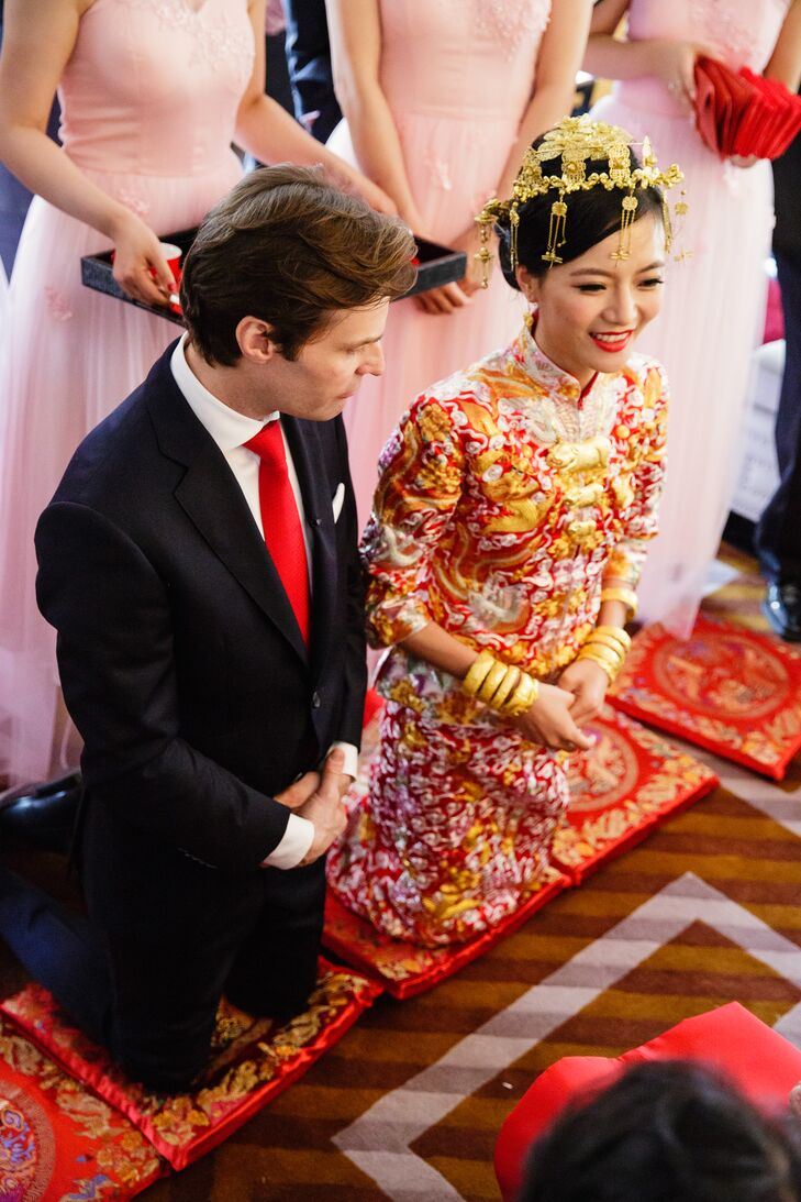 Custom-Made Traditional Chinese Wedding Dress