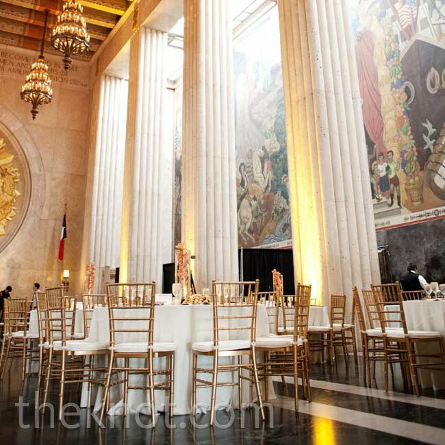 Reception Ceremony Hall: Texas Hall Of State Wedding
