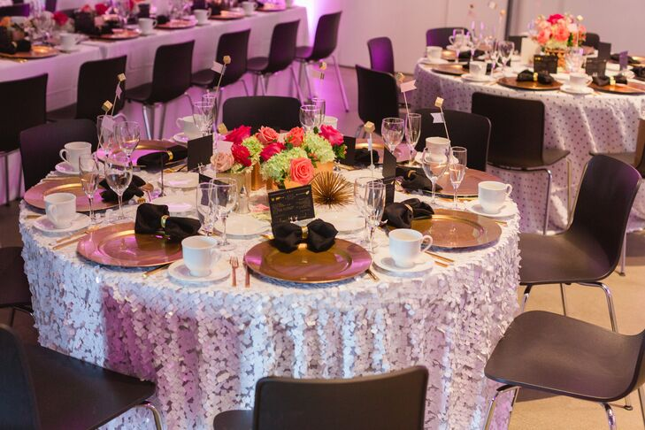 Wedding Invitations Cleveland: A Retro, Glamorous Wedding At Museum Of Contemporary Art
