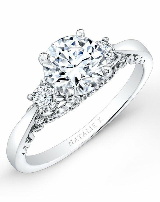 Natalie K Renaissance Collection - NK26662-W Engagement Ring photo