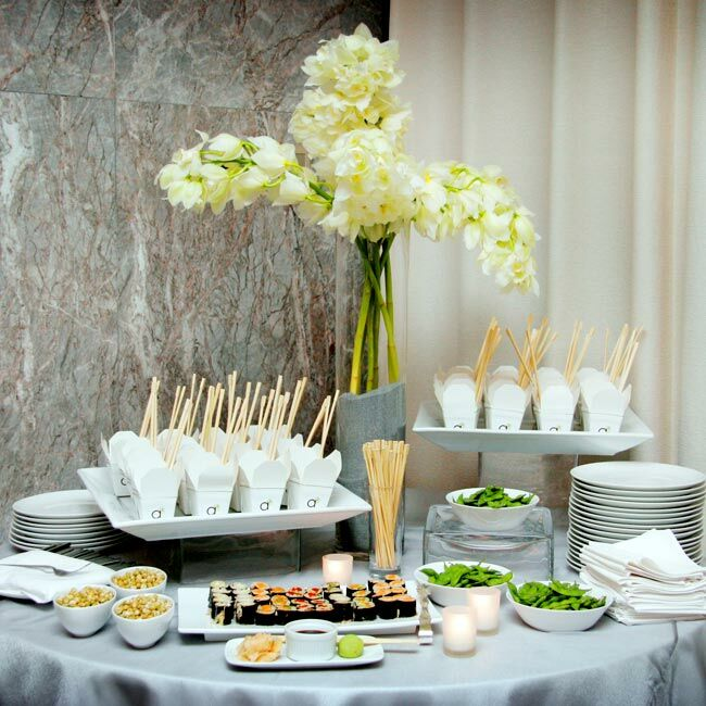 Wedding Food Stations Ideas: The Menu/Food