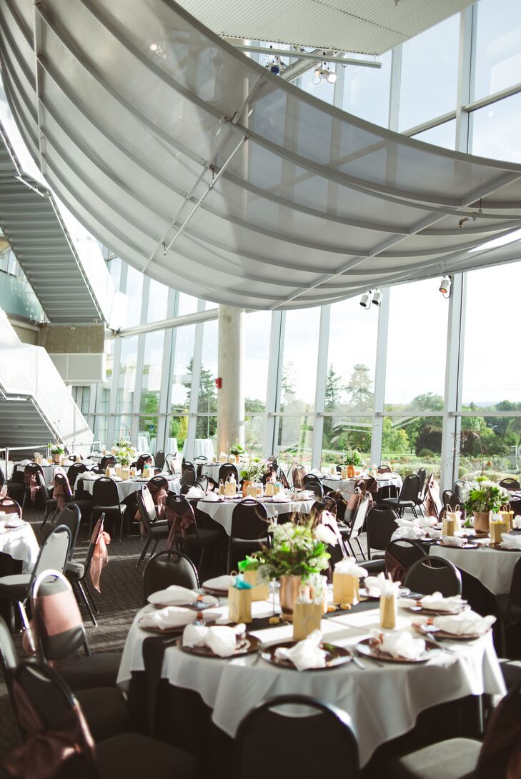 An Indoor Reception At Denver Museum Of Nature And Science
