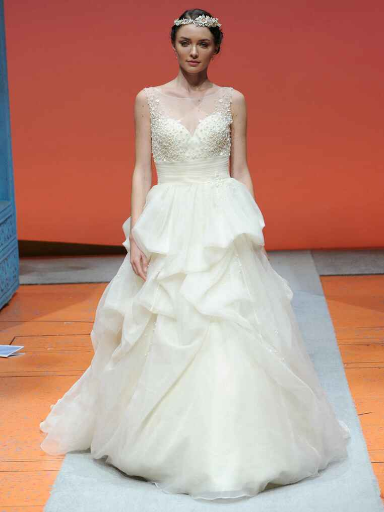 Disney fairy tale weddings by alfred angelo bridal fashion for Wedding dress disney collection
