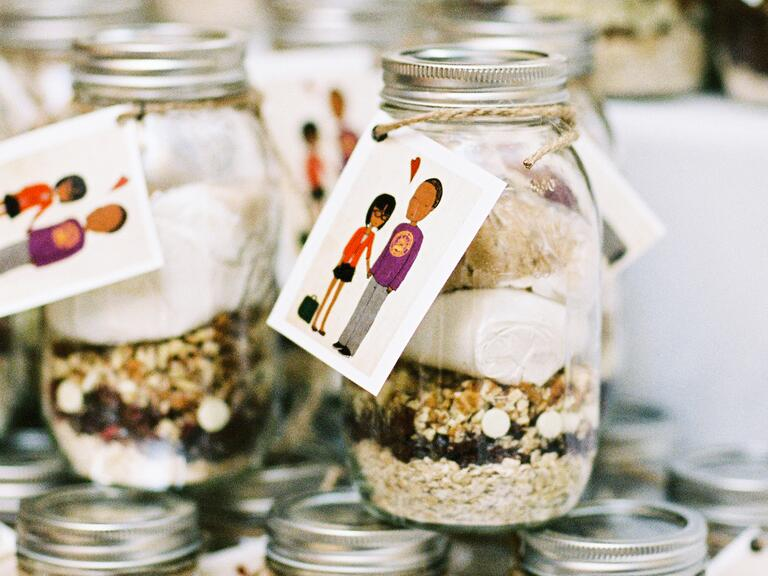 DIY food kit wedding favor