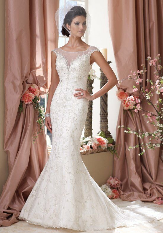 David Tutera for Mon Cheri 114272 Wedding Dress photo