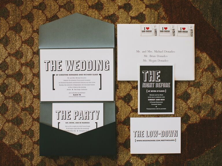 Wedding Invitations in San Diego