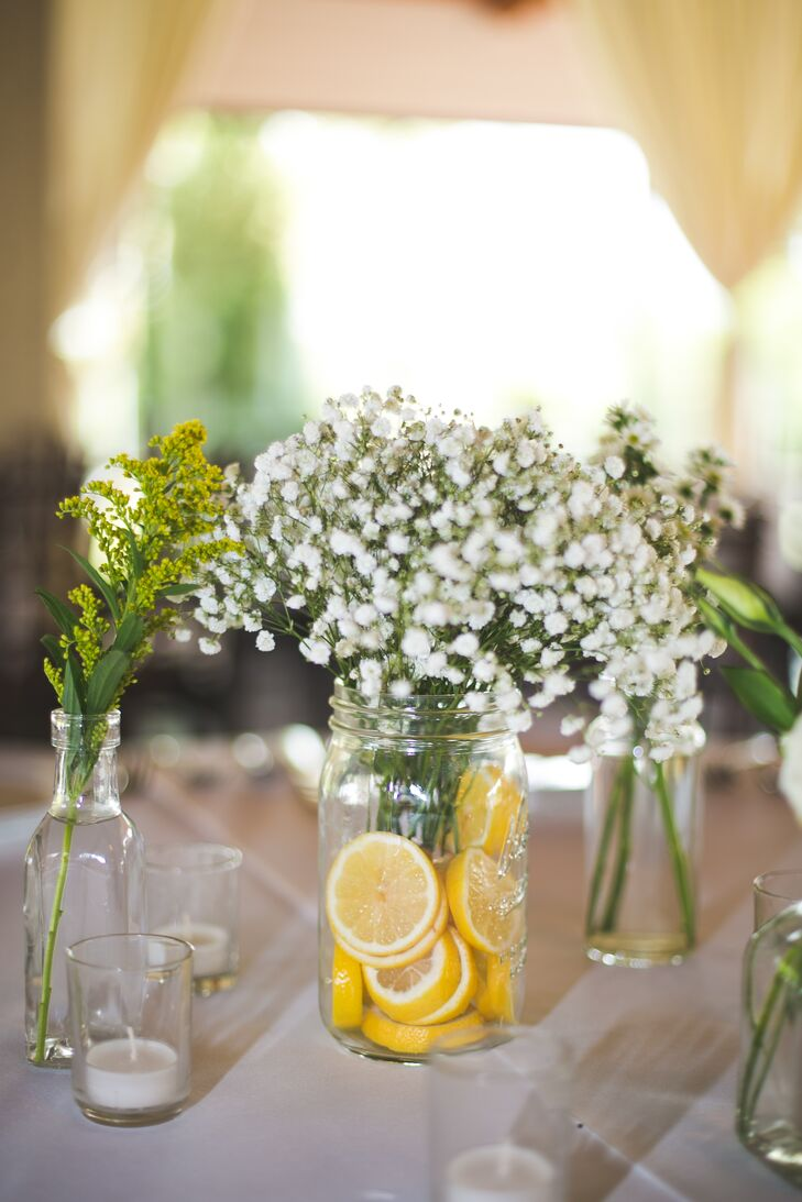 Average Cost Of Wedding Flowers In Los Angeles : How to make a flower arrangement with sliced lemons the