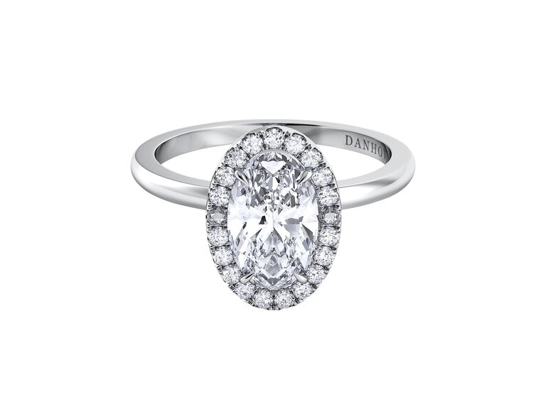 Oval Engagement Ring Danhov