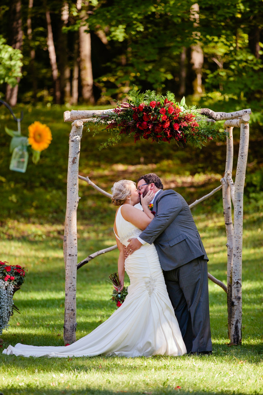 Birch Tree Wedding Arch