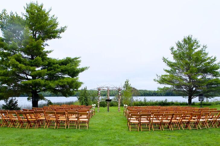 Waterfront Ceremony at Dillman's Bay Resort