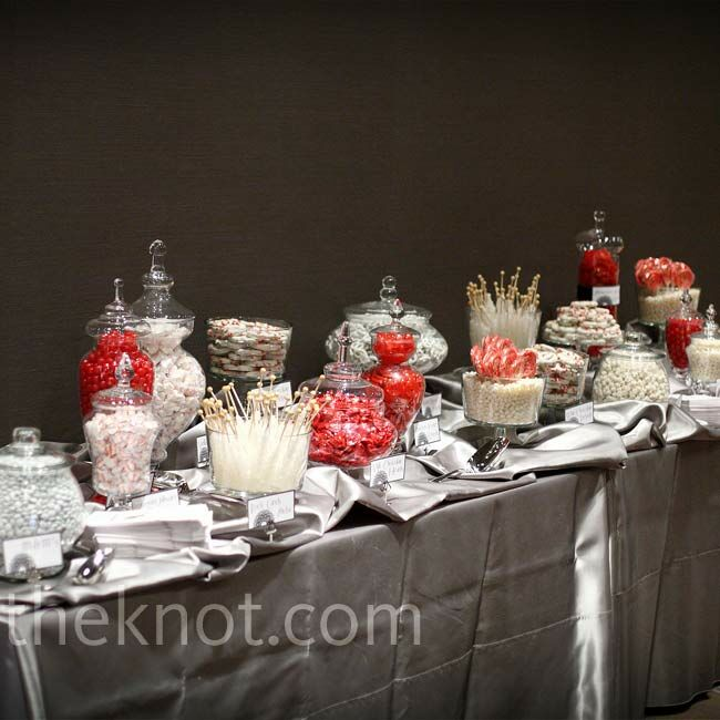Candy Bar For Wedding Ideas: Reception Candy Bar