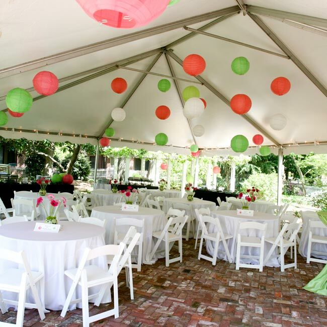 Lime Green Wedding Ideas: The Reception Decor