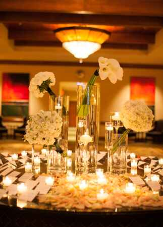 Escort Card Table // Mi Belle Photographers