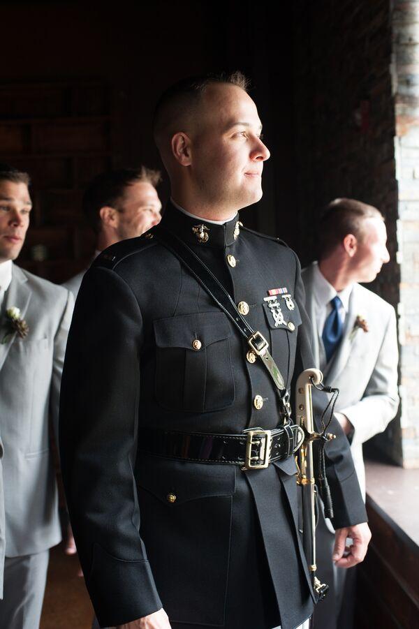Military Mens Wedding Wear