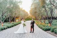 From the moment they got engaged, Michelle	Li and Brian Yang wanted an outdoor garden ceremony. They eventually booked San Ysidro Ranch in Montecito,