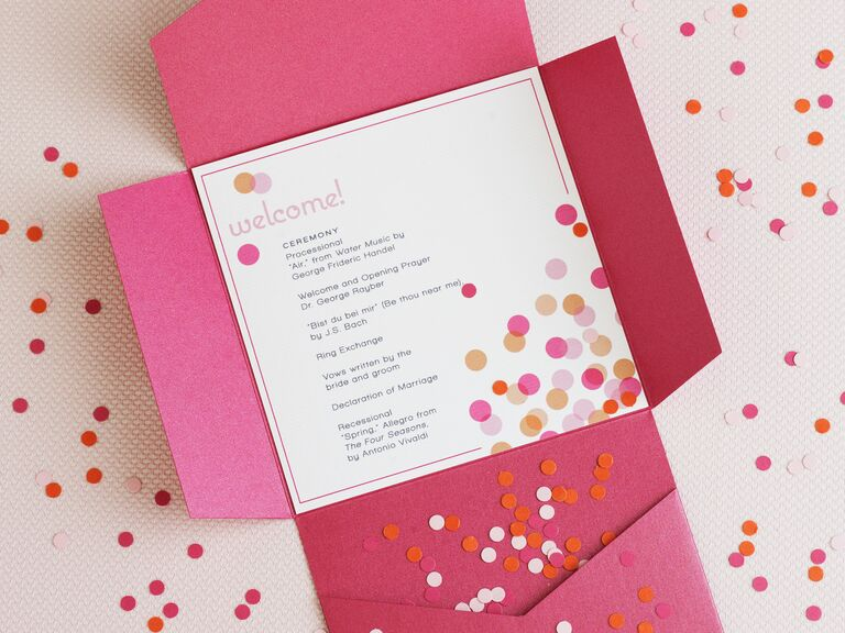 DIY Wedding Program Basics