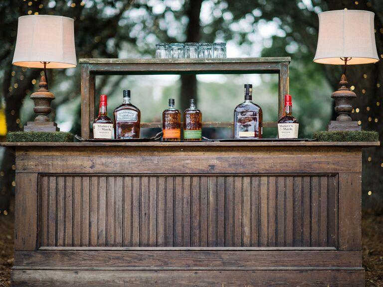 Theme Bar Ideas For Wedding Cocktail Hour
