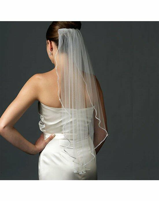 USABride 1 Layer, Swarovski Rhinestone Edge Veil VB-433 Wedding Veils photo