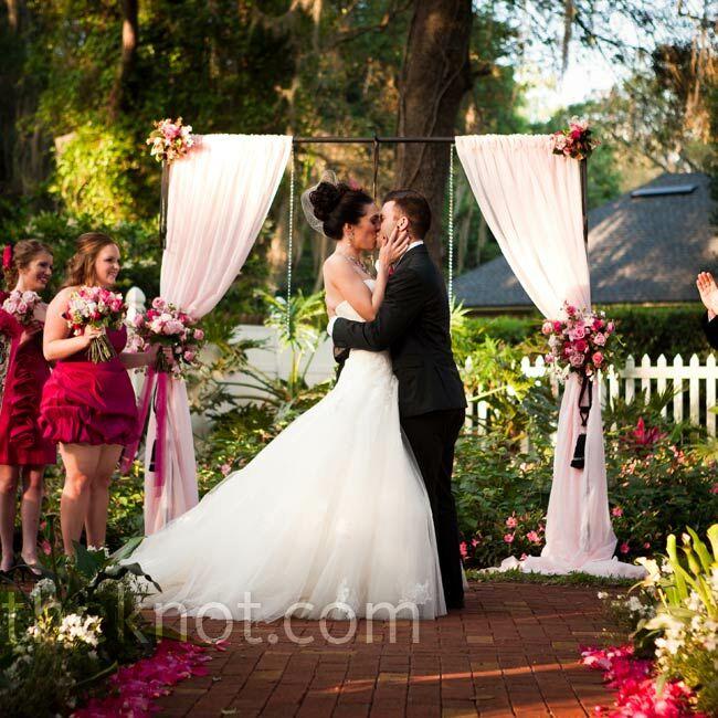 Wedding Dresses Jacksonville Fl: A Vintage Outdoor Wedding In Jacksonville, FL