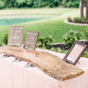 Alternative Wedding Guest Books